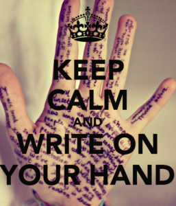 keep-calm-and-write-on-your-hand