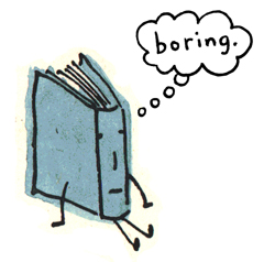 boring books-blog about boring books