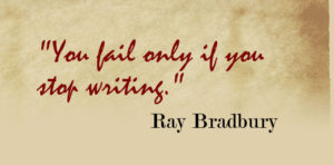 ray bradbury quotes on writing-writing quotes